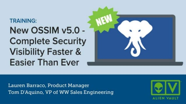 What's new in AlienVault OSSIM v5.0?