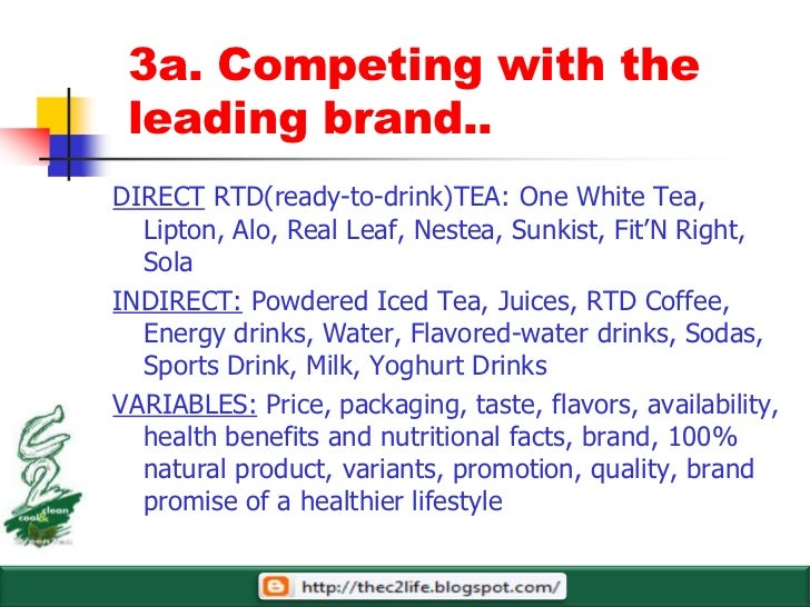 V54 10 Step Marketing Plan For C2 Green Tea