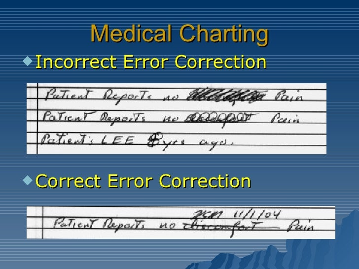 health record charting errors - Nuruf.comunicaasl.com
