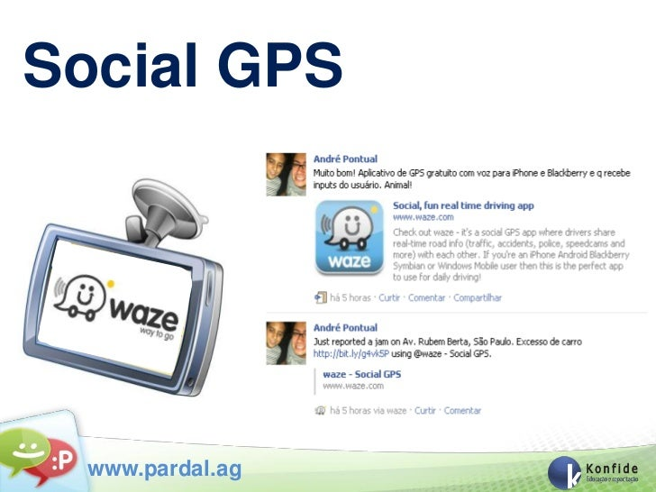 Social GPS  www.pardal.ag