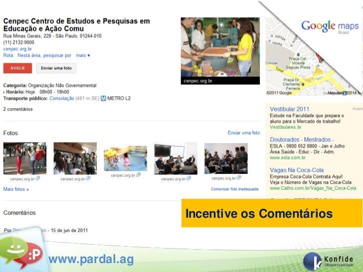 Incentive os Comentárioswww.pardal.ag