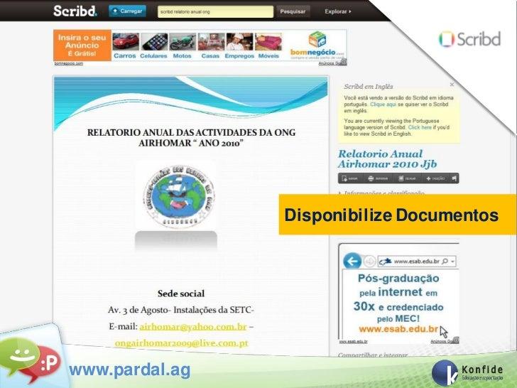 Disponibilize Documentoswww.pardal.ag