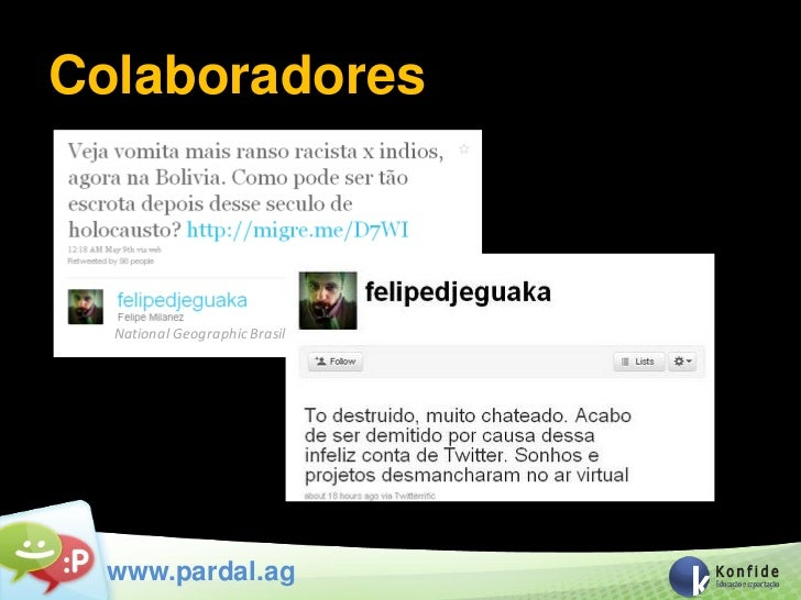 Colaboradores  National Geographic Brasil  www.pardal.ag