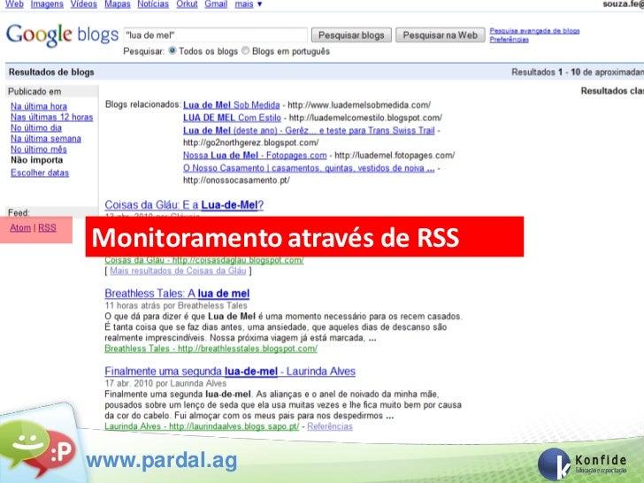 Monitoramento através de RSSwww.pardal.ag