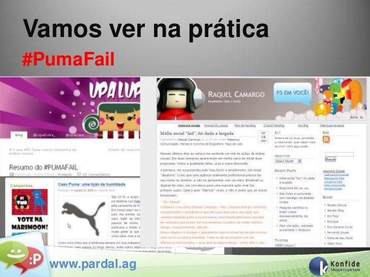 Vamos ver na prática#PumaFail  www.pardal.ag