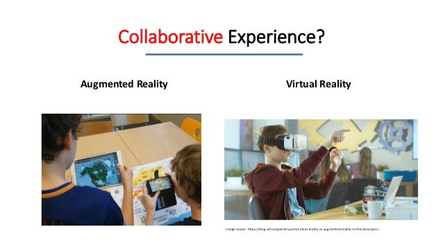 Augmented Reality for Collaborative Experience
