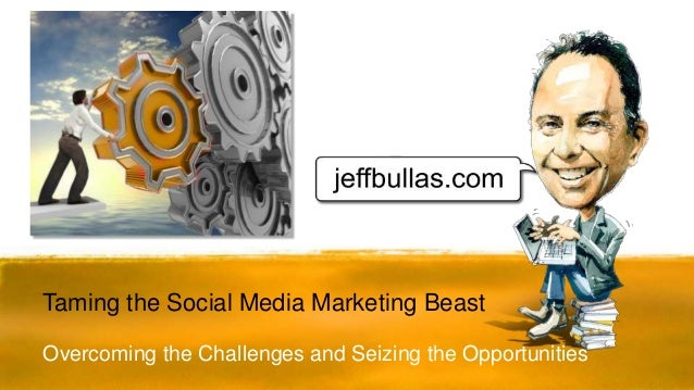 Overcoming the Challenges and Seizing the Opportunities Taming the Social Media Marketing Beast