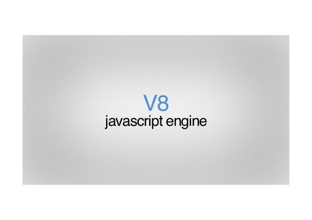 V8 javascript engine