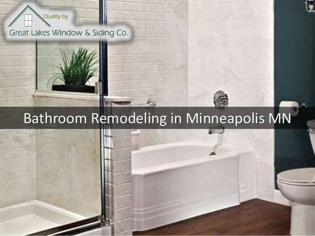Bathroom Remodeling in Minneapolis MN