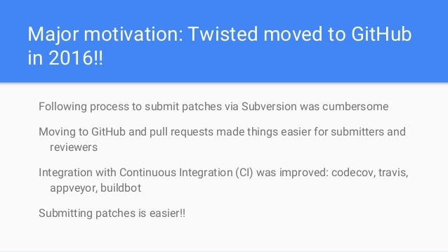 The Onward Journey: Porting Twisted to Python 3