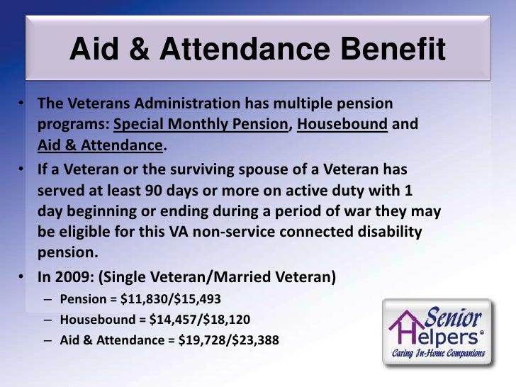 VA Aid & Attendance Seminar