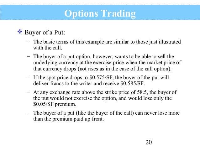 Options conversion trade