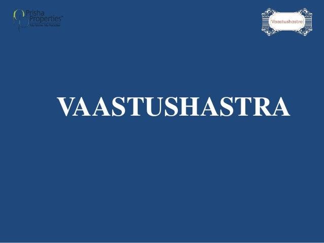 VAASTUSHASTRA