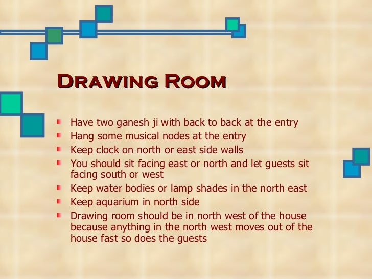 South Wall Decoration According To Vastu : Vaastu principles and their importance ppt