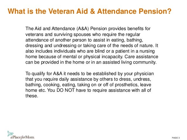 VA Benefits for Assisted Living