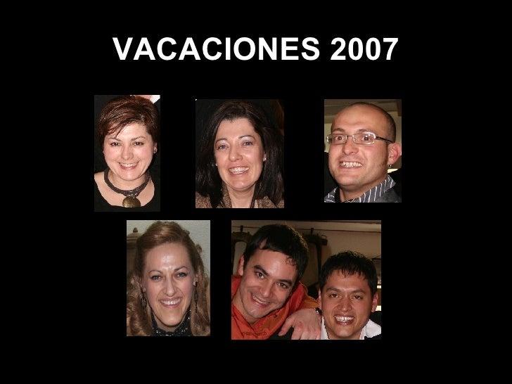 VACACIONES 2007