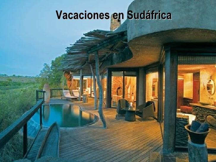 Vacaciones en Sudáfrica