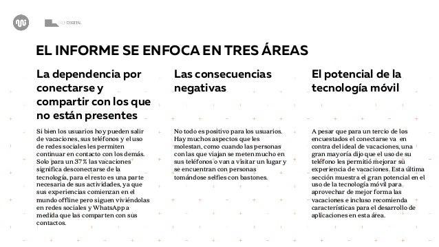 ¿VIVO PARA COMPARTIR O COMPARTO PARA VIVIR?: Cómo la tecnología cambió la experiencia de vacaciones en Chile Slide 3
