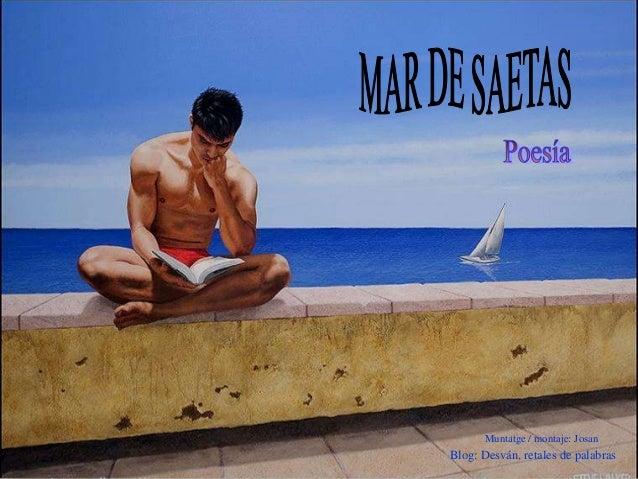 Muntatge / montaje: Josan Blog: Desván, retales de palabras