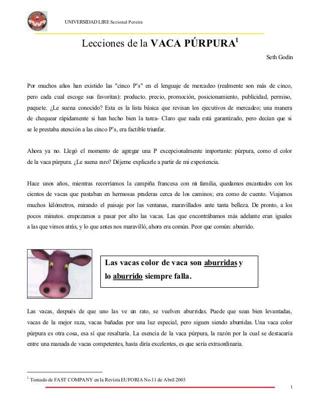 Vaca Púrpura\