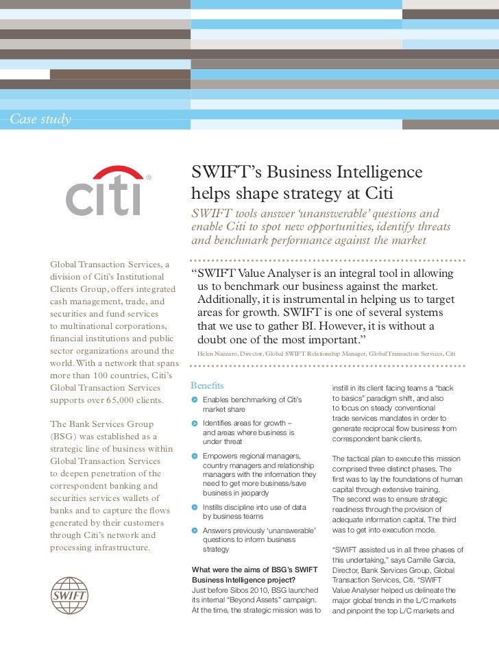 business intelligence solutions case study