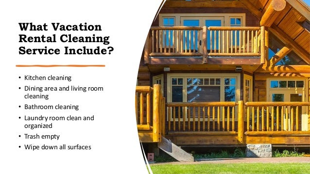 Vacation Rental Cleaning Service Slide 2