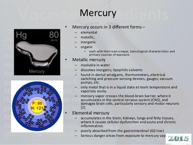 State Of Room Temperature Of Mercury