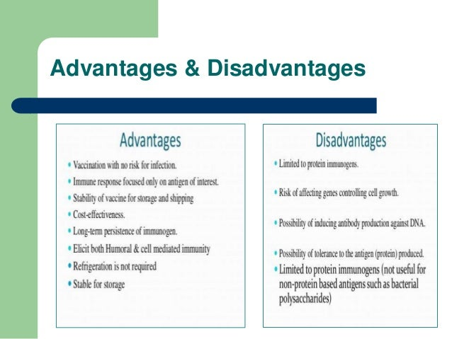 downfalls of immunizations Advantages and disadvantages of vaccinations  been developed and are under trial in the wake of debate between advantages and disadvantages of current vaccines.