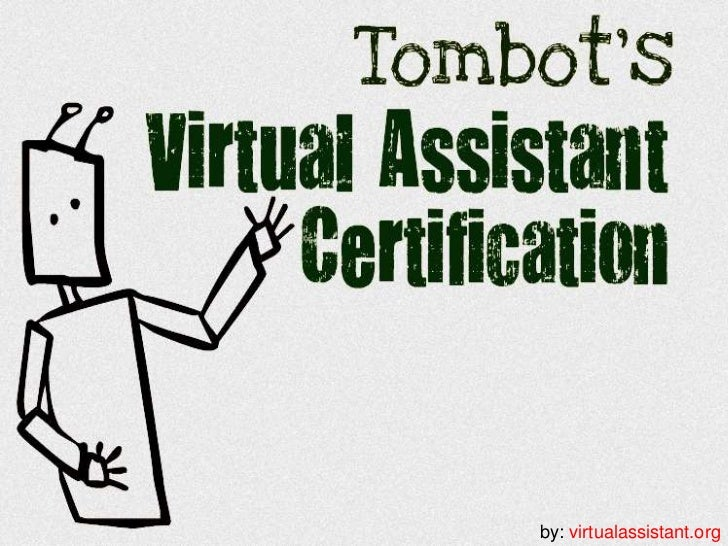 Virtual Assistant Certification