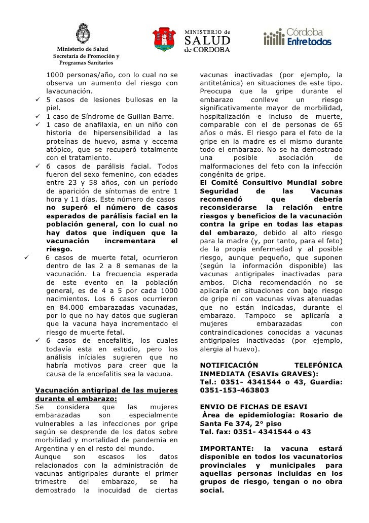 Ministerio de Salud      Secretaría de Promoción y        Programas Sanitarios     1000 personas/año, con lo cual no se   ...