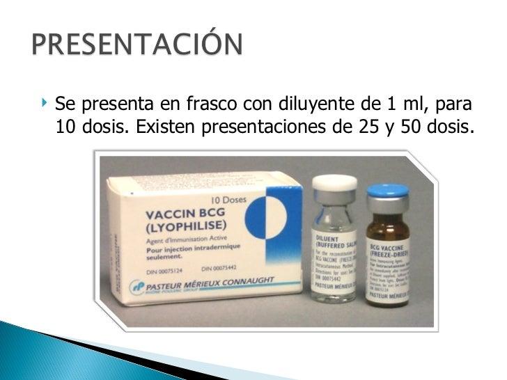 Vacuna BCG antituberculosa Slide 3