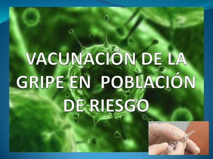 La gripe gestacional y neumocócica está causada por unvirus de la familia Orthomyxovirus.Son virus ARN y con gran variació...