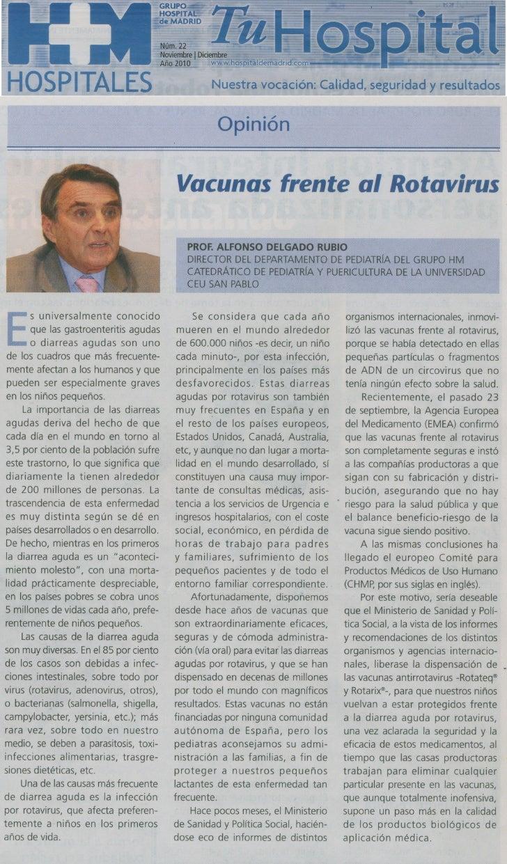 Vacunas frente al rotavirus