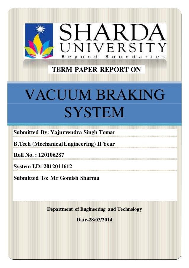 File pdf vacuum system braking