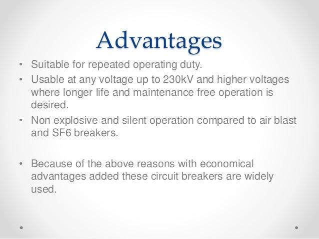 Vacuum Circuit Breaker Selection Of Circuit Breakers