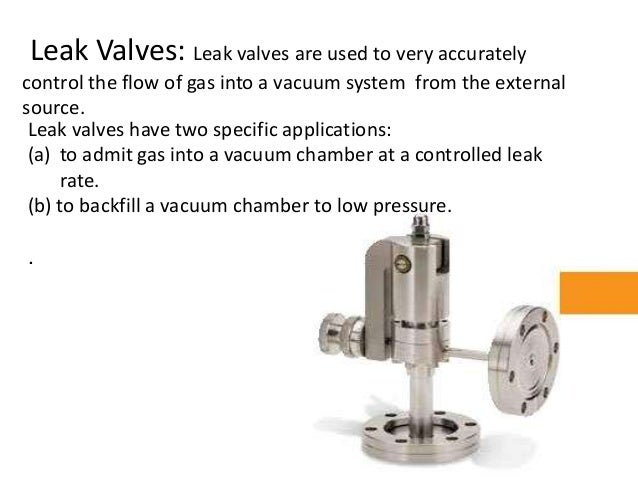 Vacuum Gauge And Valves