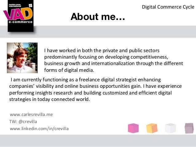 E-commerce and the digital economy in Catalonia Slide 2