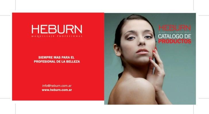 Heburn Cosmeticos - Catalogo de productos 2011