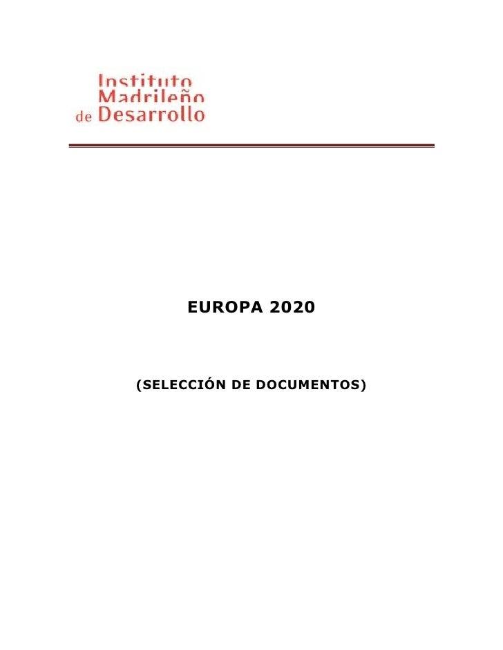 Vademecum europa 2020 es