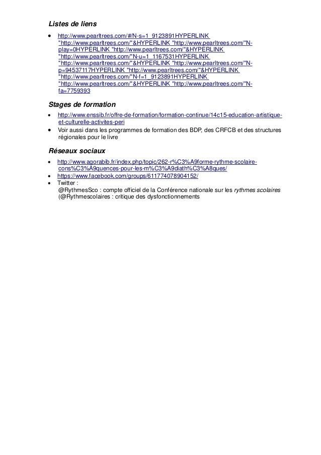 "Listes de liens  http://www.pearltrees.com/#/N-s=1_9123891HYPERLINK ""http://www.pearltrees.com/""&HYPERLINK ""http://www.pe..."