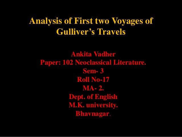 gullivers travels analysis pdf