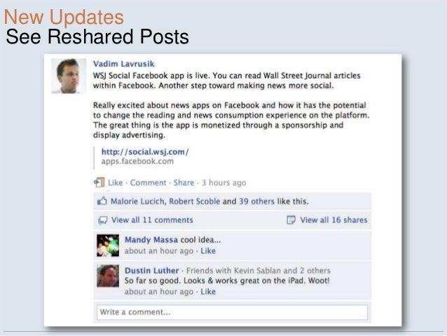 New UpdatesSee Reshared Posts