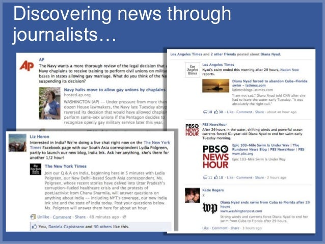 Discovering news throughjournalists…