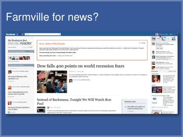 Farmville for news?