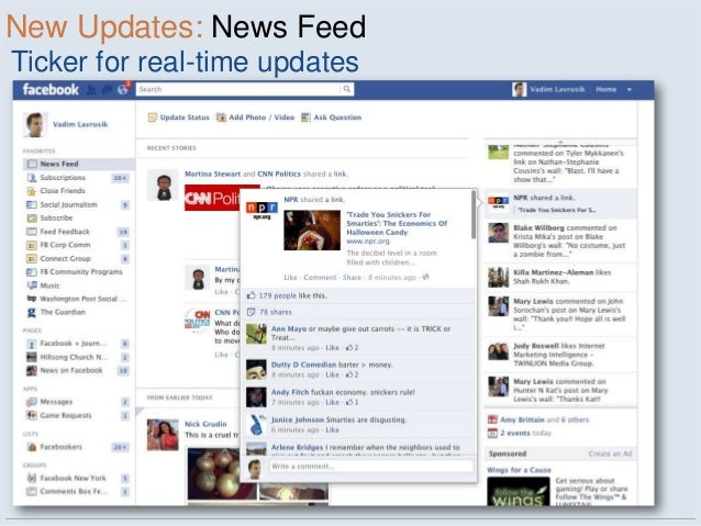 New Updates: News FeedTicker for real-time updates