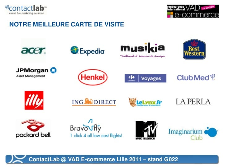VAD E-commerce 2011 - L'email marketing au service de la VAD  Slide 3