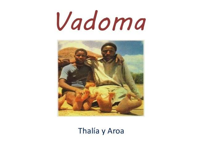 Vadoma Thalía y Aroa