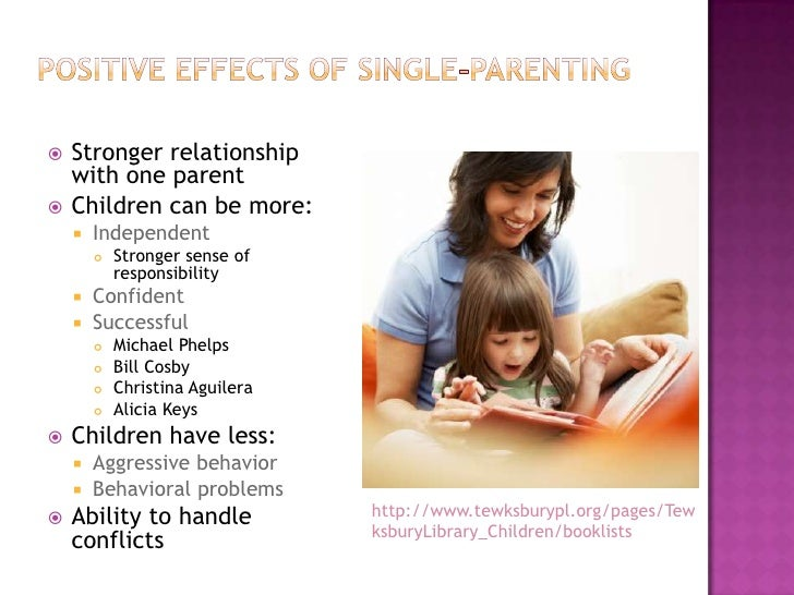 Related studies about single parenting dating