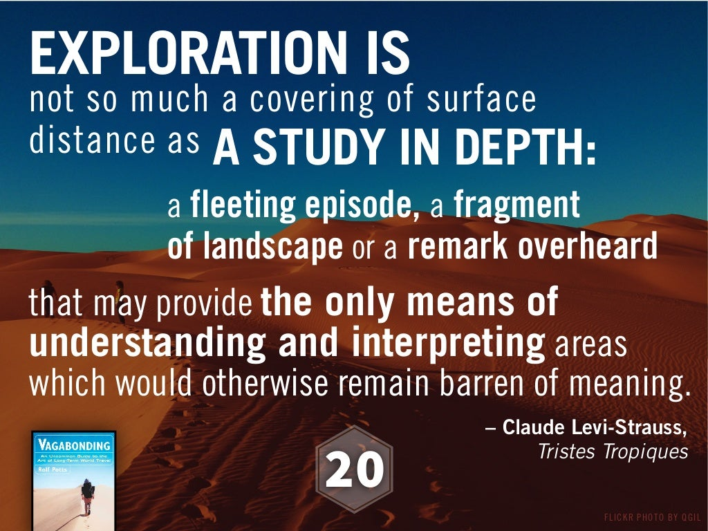 100 Best Sayings About Exploration Exploration Quotes: EXPLORATION IS Not So Much