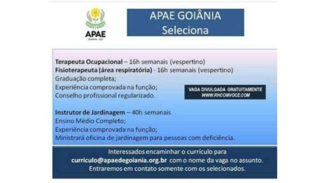 OPORTUNIDADES DE EMPREGO EM GOIÂNIA • Café do Sítio CONTRATA  Nome da Vaga   ... 4b1b1cd16af
